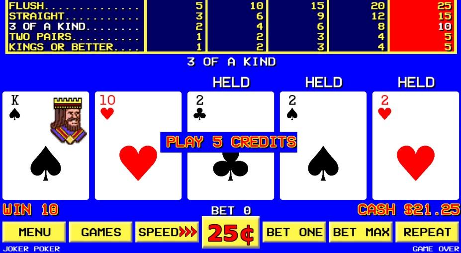 videopokerit kasino